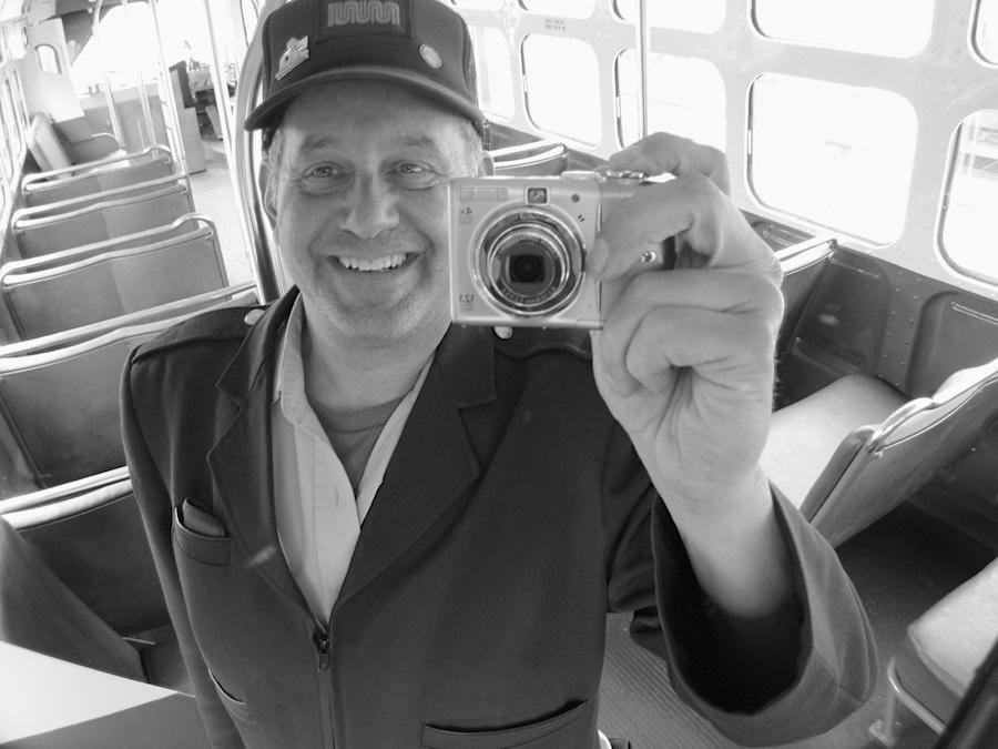 "Meet Driver Doug, transit operator for the San Francisco Municipal 'Muni"" Railway."